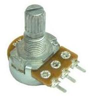 100 Ohm potentiometer for low voltage disconnect circuit