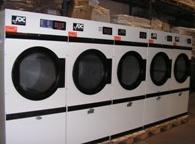 Commercial gas powered tumble dryers - reconditioned from launderettes