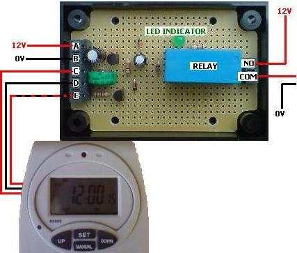 Converted programmable digital timer