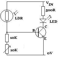 Light Dependent Resistor | REUK.co.uk