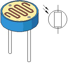 Light dependent resistor (LDR, photocell, photoconductor)