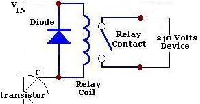 Relay used in Light dependent resistor circuit