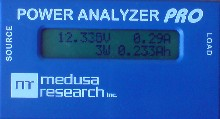 Power Analyzer PRO display