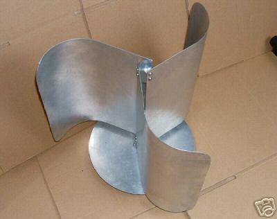 VAWT wind turbine blade set