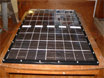 Home made solar panel - constructed from a kit
