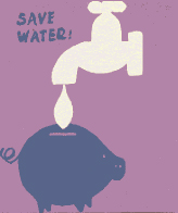Ways to save water