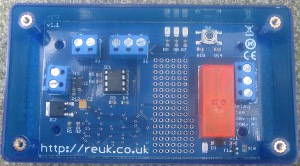 REUK SUPER TIMER 2. User programmable 12VDC powered 16A rated repeating relay timer. 1 second to 99 hours ON and OFF times